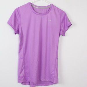 Nike Running dri-fit lavendar purple shirt top